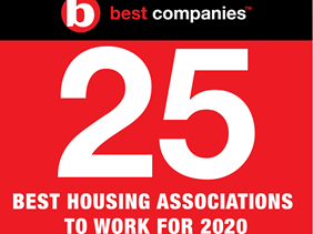 Top 25 best housing associations to work for 2020 logo