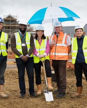 Work begins on 49 affordable homes in Shefford