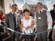 Ribbon-cutting marks completion of 48 sought-after affordable homes in Swindon