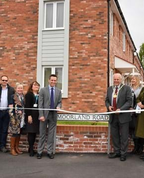 Former Pig & Whistle pub transformed into 17 affordable homes in Bridgwater