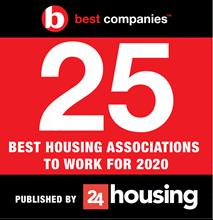 24 housing best companies article stating stonewater ranked in 25 best housing associations to work for in 2020.