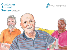Customer Annual Review 2020 front cover