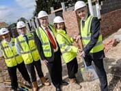 Shottery residents to benefit as work  starts on 11 affordable village homes