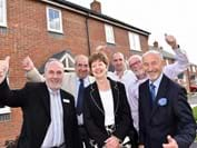 12 new affordable homes are completed in Stockton