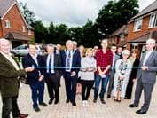 Southmead Close, Mayfield - Stonewater team with residents.jpg