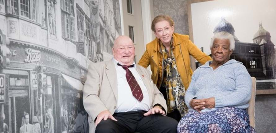 Dame Margaret Beckett MP revisits refurbished retirement living scheme 31 years after original opening