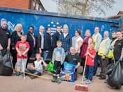 Penfields Estate residents team-up for a community day spring-clean in Stourbridge